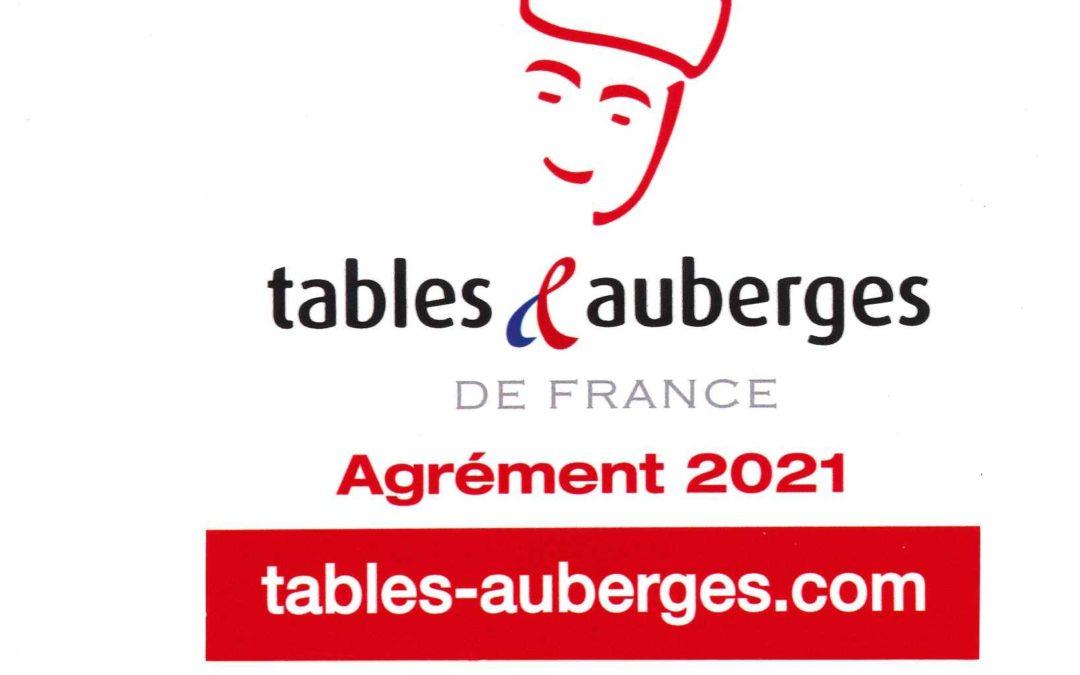 Tables & Auberge de France 2021